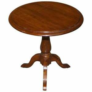 VICTORIAN WALNUT SALESMAN SAMPLE MINIATURE OCCASIONAL TABLE GREAT CAKE STAND!