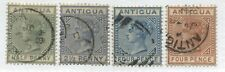 Antigua QV 1882-86 various to 4d used