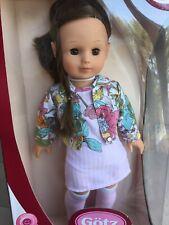 New In Box Gotz Precious Day Play Doll Sleeping Eyes 46 - 50 cm/ 18 In Brown