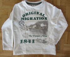 neuwertig es weißer langärmlig Pulli Pullover Sweat Gr. 104 von C&A Palomino