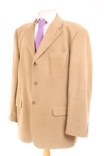M&S ITALIAN BEIGE CORDUROY MEN'S SPORTS JACKET 44R DRY-CLEANED