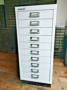 Bisley 10 Drawer Filing Cabinet