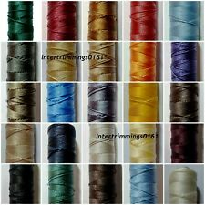 STRONG BONDED NYLON THREAD 20'S, 100MTRS, IPCABOND, ASSORTED COLOURS