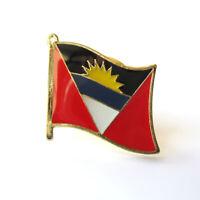 NEW ANTIGUA /& BARBUDA COUNTRY FLAG SMALL METAL NECKLACE CHOKER .