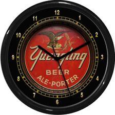 Vintage Yuengling   Beer Wall Clock  Man Cave Den Rec Room