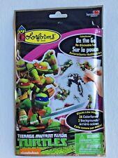 Restickable Colorforms On the Go Set Teenage Mutant Ninja Turtles