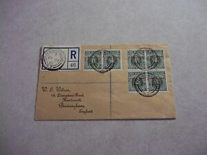 PENRHYN Cook Islands Stamps SG 19c On 1915 REGISTERED COVER TO ENGLAND