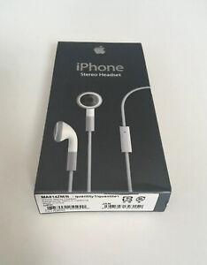 New Old Stock Genuine Apple iPhone 2g & 3g Earphones - Headset - 1st Generation