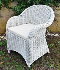 Sedie In Vimini Bianche.Sedie Da Esterno Poltrone Vimini Acquisti Online Su Ebay