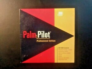 PalmPilot Professional Edition 3Com CD-Rom Desktop Software Genuine Original