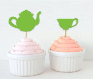 Darling Souvenir| Bridal Shower Tea Party Cupcake Topper| Birthday-hqB