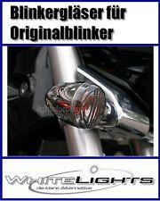 schwarze Blinker Gläser Suzuki M 1800 R VZR VLR Intruder smoked signal lenses
