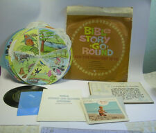BIBLE STORIES GO ROUND 1964 Sunday School Bible Study materials CHRISTIAN based