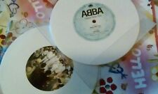abba white vinyl single limited edition no.417 happy new year engl.& spain 2018