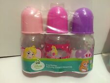 3-5oz Disney Princess Sleeping Beauty  bottles   New!