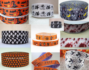 1m HALLOWEEN RIBBON GROSGRAIN