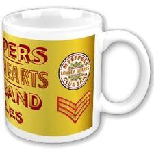 BEATLES BOXED MUG Sgt Pepper Logo