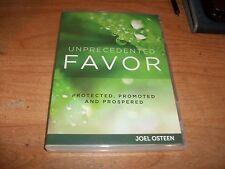 Unprecedented Favor: Protected Promoted & Prospered Joel Osteen (DVD + CD 2012)