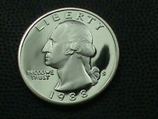 UNITED STATES 25 Cents 1988 S PROOF