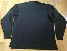 Footjoy Men's Black Long Sleeve Golf Shirt Size L