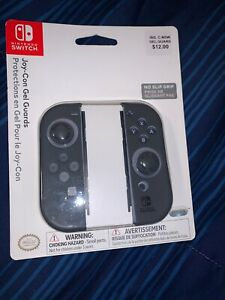 Official Nintendo Switch Gray No Slip Grip Kit 500-034 New Sealed 2017 PDP