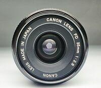 CANON FD 35 / 2,8