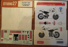 DECAL: 1/12 S27914 2010 MARCO SIMONCELLI HODA RC212V TEST BIKE