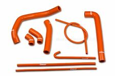 Ducati 1299 Panigale S R 2015-2017 Coolant Silicon Hoses Orange, Radiator Pipes