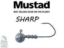 Mustad Sharp jig heads 6/0- 35g. 3 pcs. pike,perch,zander.