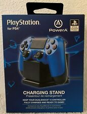 PowerA Playstation Snap-Down Charging Stand For PS4 Dualshock Controller Black