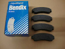 572155B Bendix Rear Brake Pads Fits Nissan Sunny With Rear Discs 1986 - 1991
