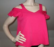 SWEEWE Paris Off shoulder pink top Size S/M