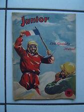 EDITION DES REMPARTS / RELIURE LES GRANS HEROS  1 / NUM 1 A 5 /  1952