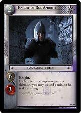 LoTR TCG Siege of Gondor Knight Of Dol Amroth FOIL 8C39