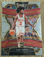 2019-20 Panini Select Coby White Concourse Rookie RC 🔥 #48 Bulls