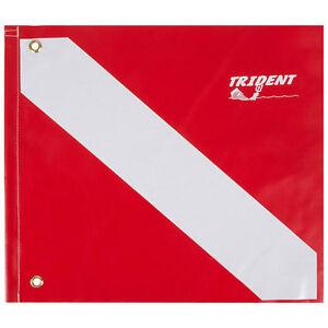 Trident Heavy Duty Poly Coated Nylon Flag