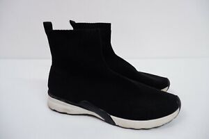 Zara Womens Elasticated Boots, Sneakers, Trainers, Uk 6 Eu39 Black White, VGC