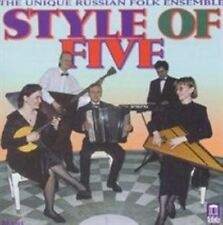 NEW The Unique Russian Folk Ensemble: Style of Five (Audio CD)
