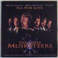 Les 3 Mousquetaires CD promo 1993