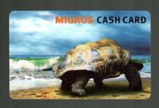 MIGROS ( Switzerland ) Giant Tortoise 2013 Gift Card ( $0 )