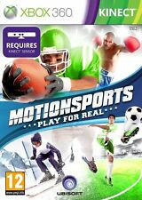 Motionsports Play for Real Xbox 360 Kinect PAL UK ** NAGELNEU & OVP!!! **