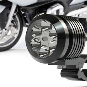 Motorcycle 12V-80V 6500K LED Light Headlight Fog Driving Lamp Lights w/ Bracket