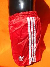 ADIDAS Shorts True Vintage 80s Trefoil Nylon Lining Sprinter Glanz Old School