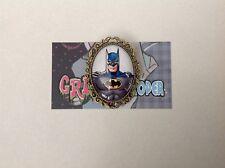 Batman brooch pin clip rockabilly pin up girl marvel joker Harley Quinn vintage
