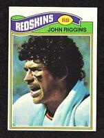 1977 Topps #55 John Riggins Washington Redskins HOF Football Card EX/MT