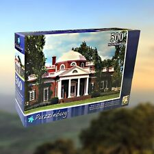 """Monticello - Home Of Thomas Jefferson"" 500 Piece Jigsaw Puzzle ~ NEW"