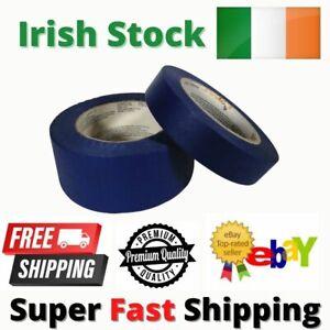 Blue Painters Masking Tape Clean Peel 24MM-48MM x 50M Long Last UV Resistant NEW