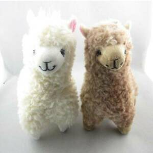 Cute Mini Camel Cream Llama Alpaca Plush Toy Kids Gift Stuffed Animal Baby Doll