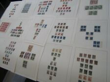 Nystamps Russia old stamp & rare block collection Album page !