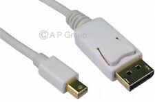 3 m Mini DisplayPort vers DisplayPort Cable Lead Male to Male Display Port DP Gold